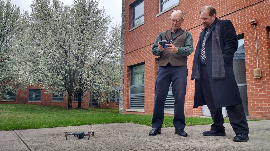 Vern Williams drone demonstration